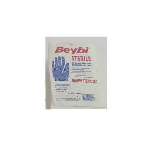 Beybi Latex Steril Muayene Eldiveni Beden: Small (7)