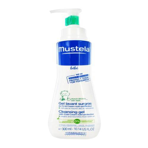 Mustela Cleansing Gel With Cold Cream Nutri Protective 300ml