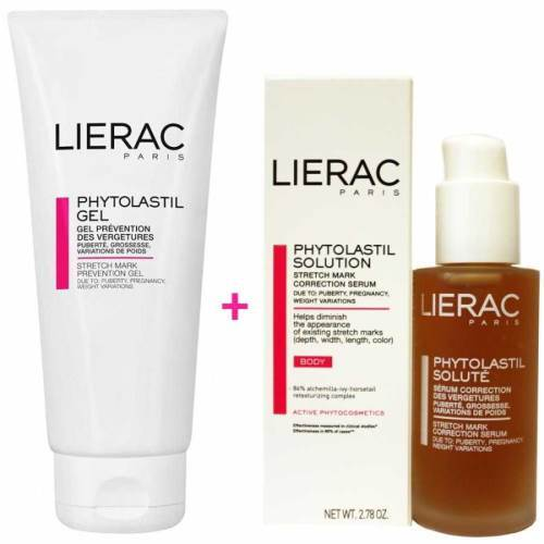 Lierac Phytolastil Jel 200 ml ve Solute Serum 75 ml