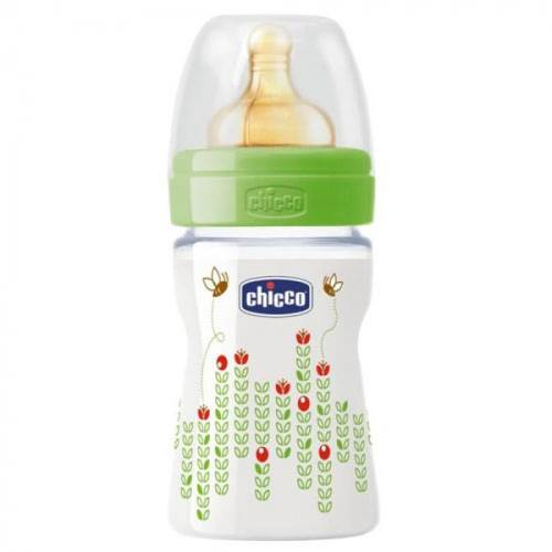 Chicco Desenli PP Normal Akış Biberon Kauçuk 150 ml