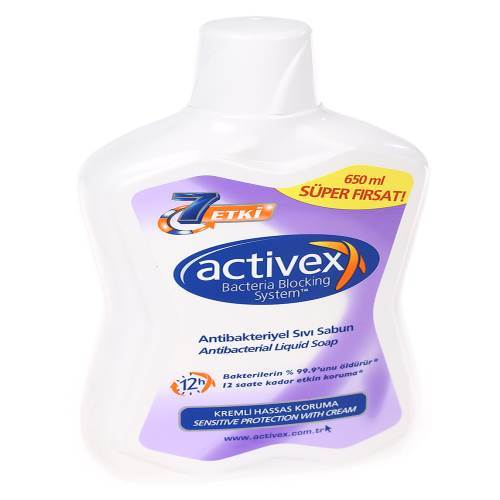 Activex Anti  Bakteriyel Sıvı Sabun 7 Etki - 650ml