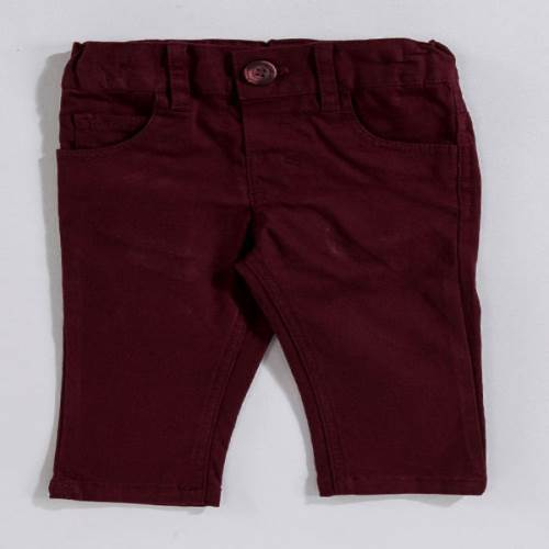 Bebepan Airplane Gabardin Pantolon Bordo 6-9 Ay