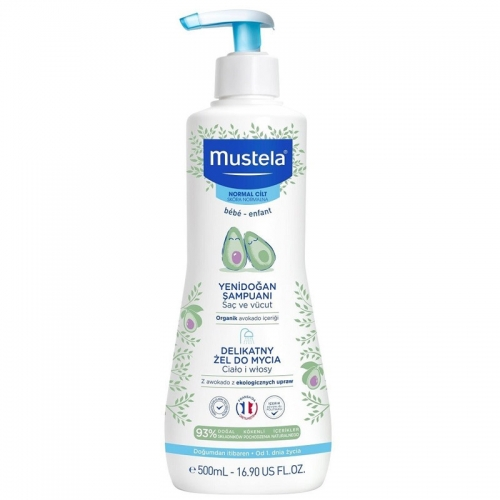 Mustela Gentle Cleasing Gel 500 ml