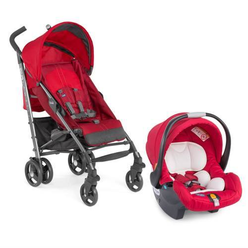 Chicco Duo Lite Way Plus Top Travel Sistem Bebek Arabası - Red