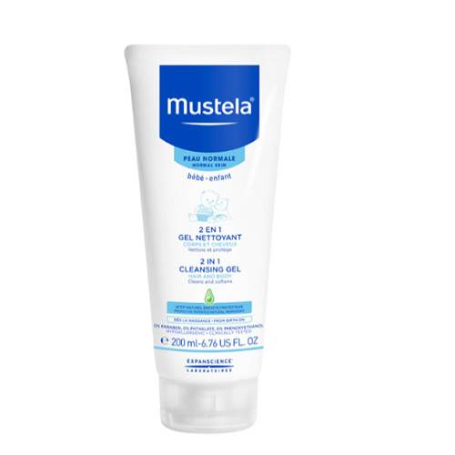 Mustela 2 IN 1 Cleansing Gel 200 ml
