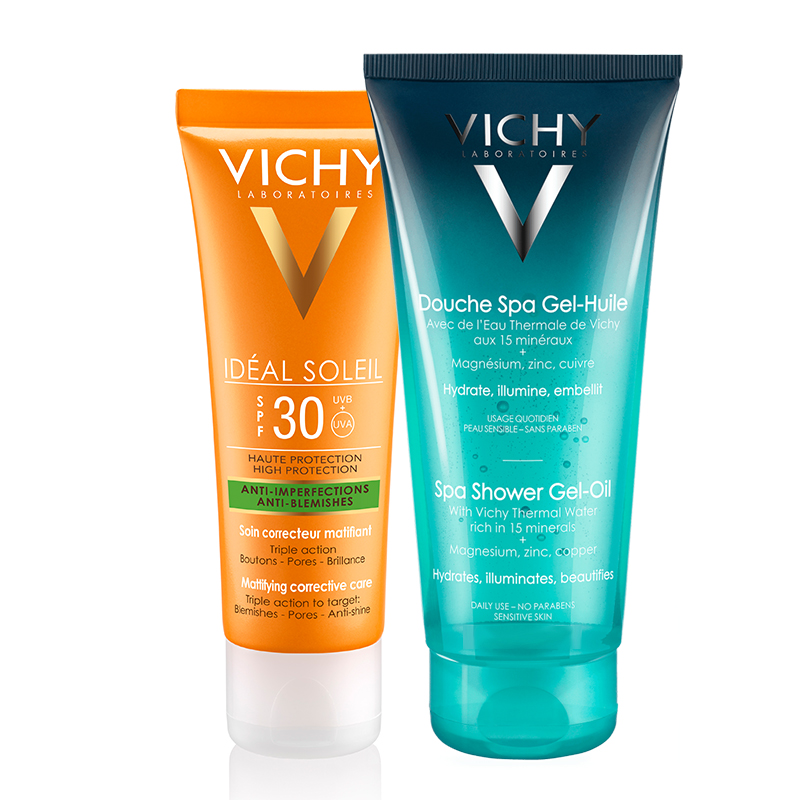 Vichy İdeal Soleil Anti-Blemish Care Spf30 50ml - Duş Jeli Hediye