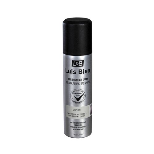 Luis Bien Hair Fiber Sprey 100 ml - Gri
