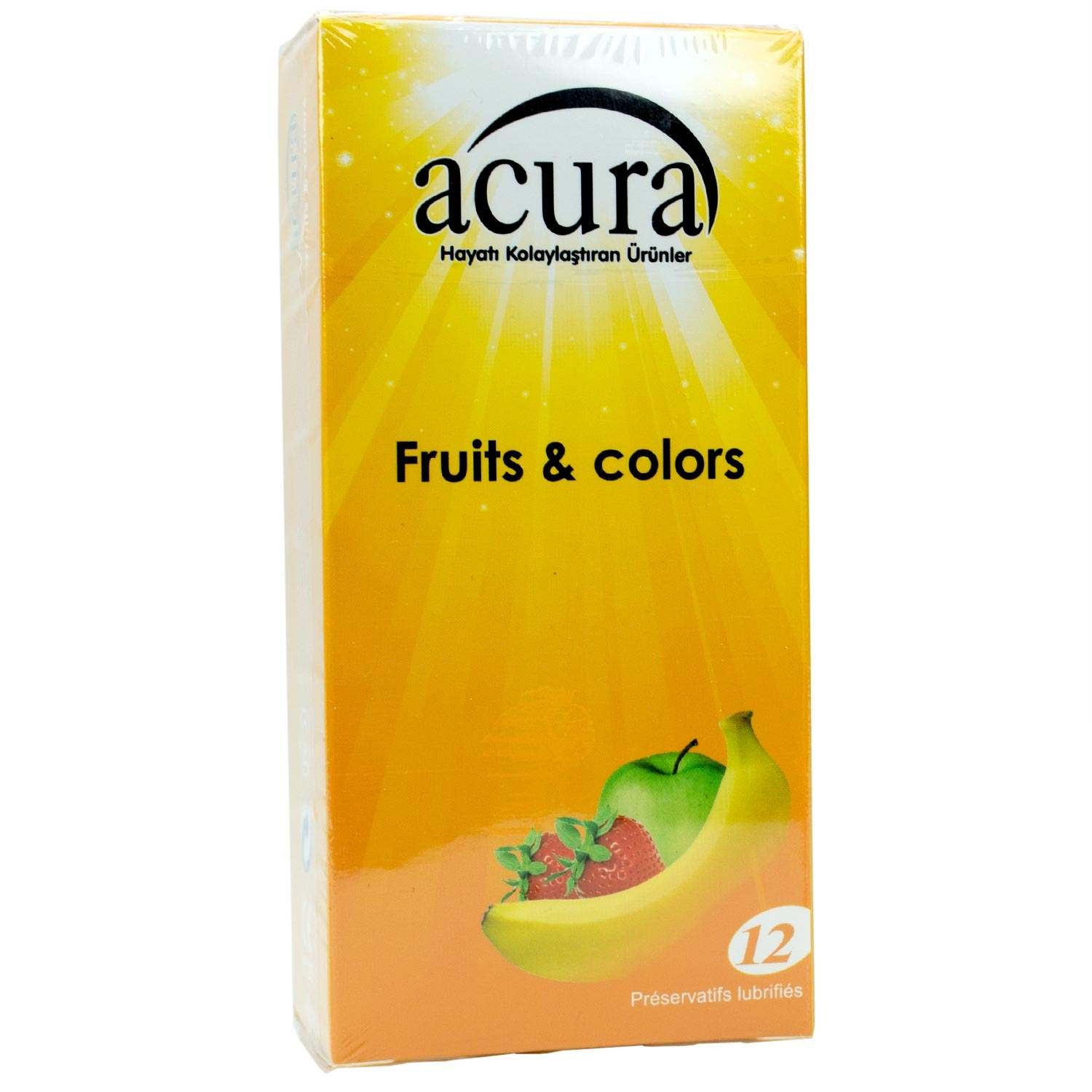 Acura Ac 9003 Condom Fruits & Colors 12