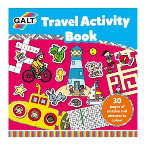 Galt 1105506 Travel Activity Book 6 Yaş+