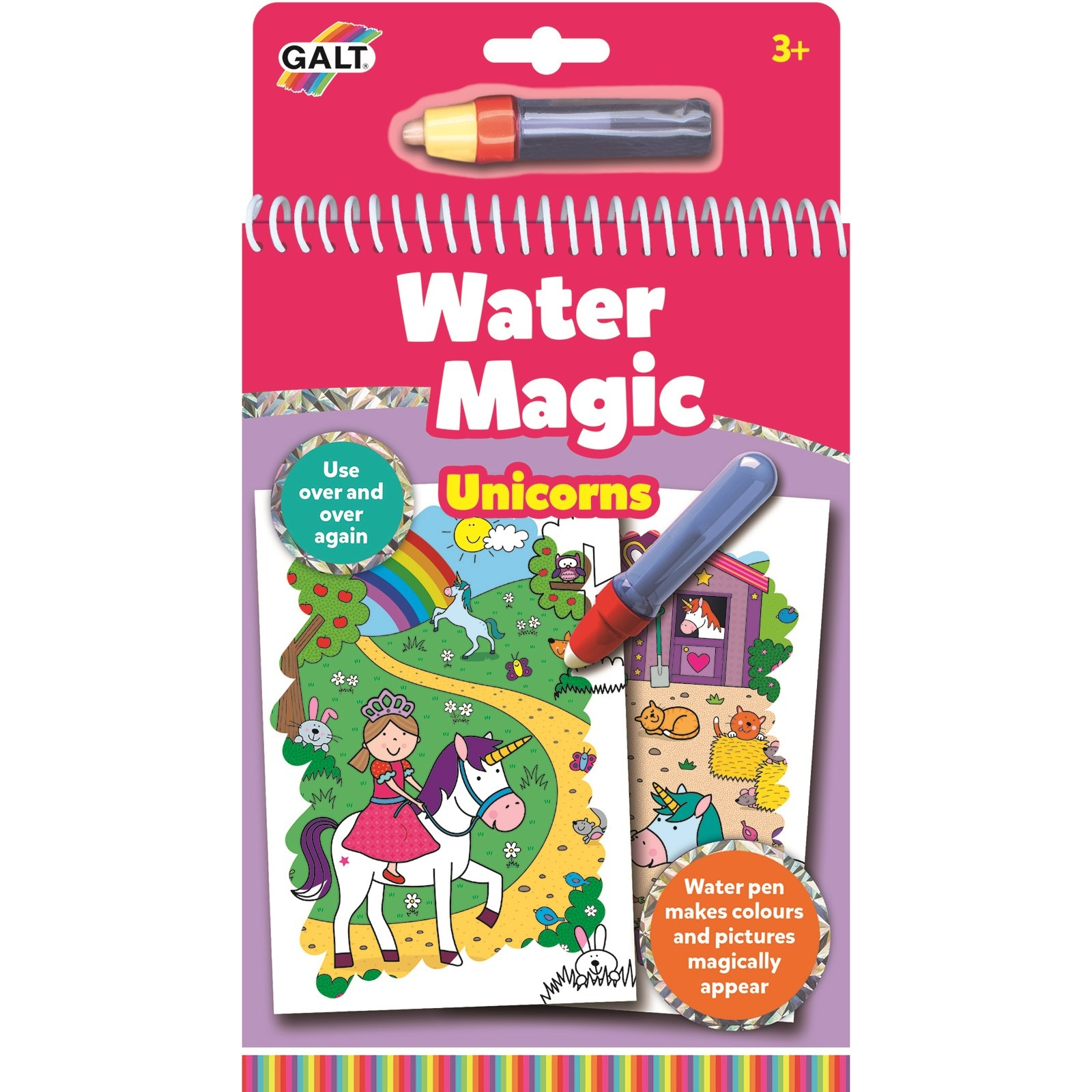 Galt 1005152 Water Magic Sihirli Kitap Unicorn 3 Yaş+