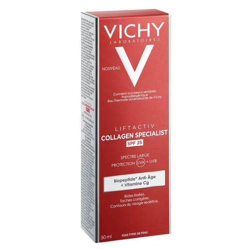 Vichy Liftactiv Collagen Specialist SPF 25 Bakım Kremi 50 ml