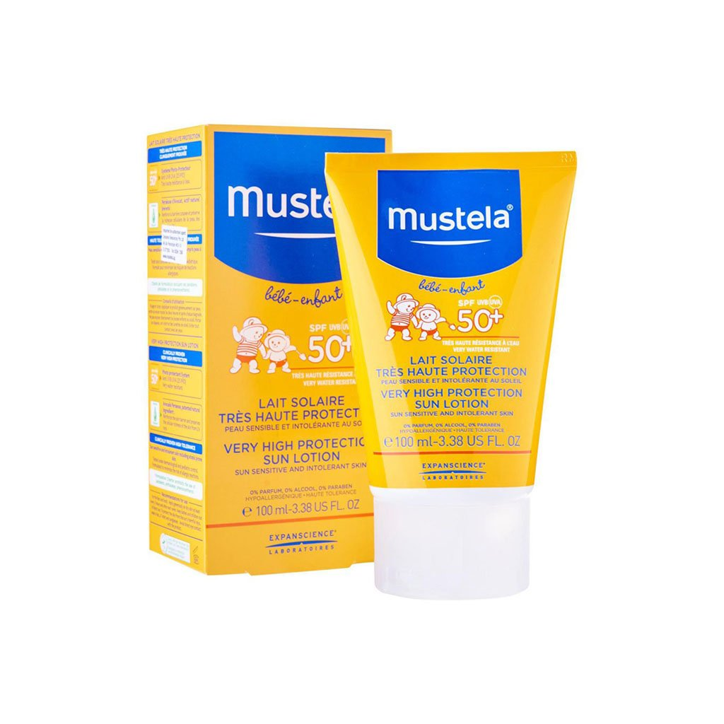 Mustela Very High Protection Sun Losyon spf50 100 ml