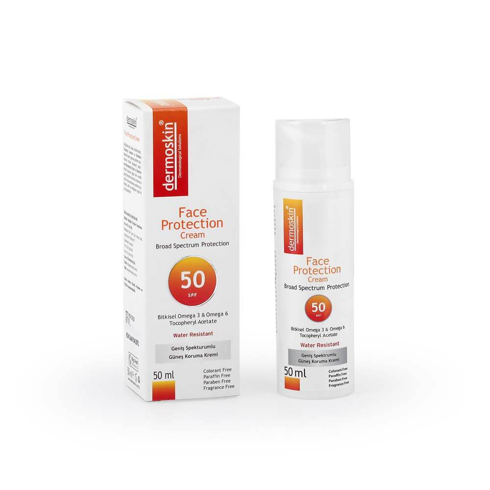 Dermoskin Face Protection Cream SPF 50+ Yüz Koruyucu