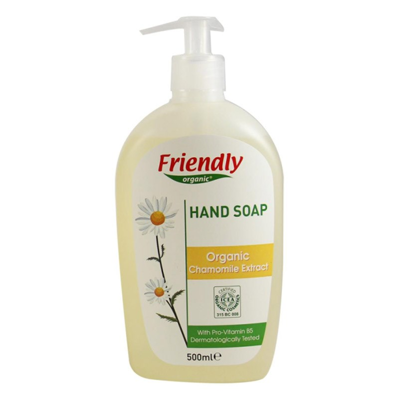 Friendly Organic Sıvı El Sabunu Papatya 500 ml