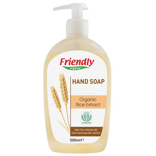 Friendly Organic Sıvı El Sabunu Pirinç 500 ml